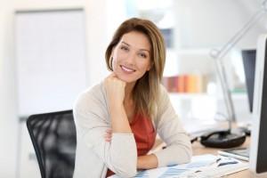 Woman appreciating the 5 Stress-Free Coaching Tips she's heariang