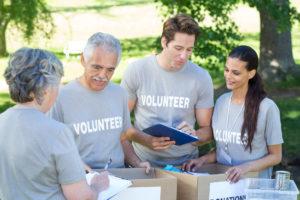 Team Building through volunteering and other activities