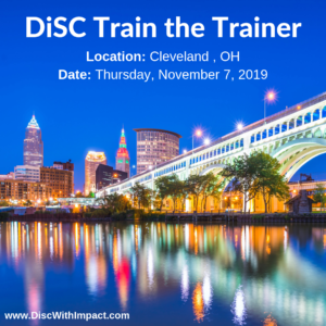 DiSC Train the Trainer Cleveland